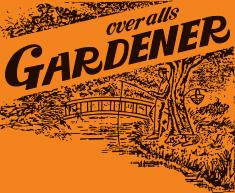 GARDENER OVER ALLS